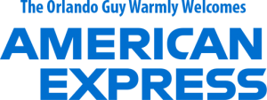 The Orlando Guy Warmly Welcomes American Express